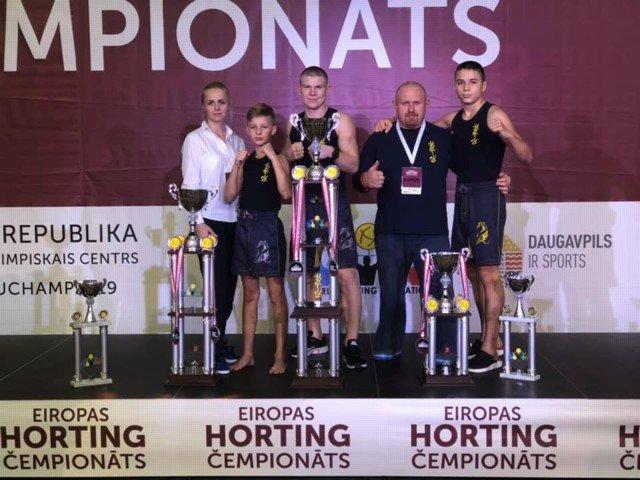 Кирилловские спортсмены стали чемпионами Европы по хортингу, фото-2