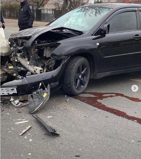 В Мелитополе столкнулись два автомобиля, - ФОТО , фото-2, Фото из соцсети