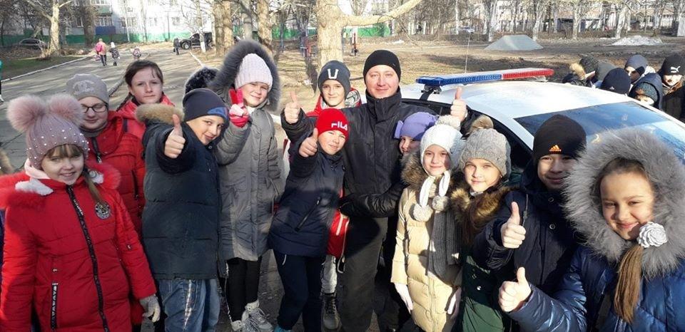 Полицейские рассказали мелитопольским школьникам о правилах дорожного движения, фото-1