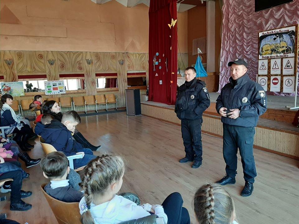 Полицейские рассказали мелитопольским школьникам о правилах дорожного движения, фото-2