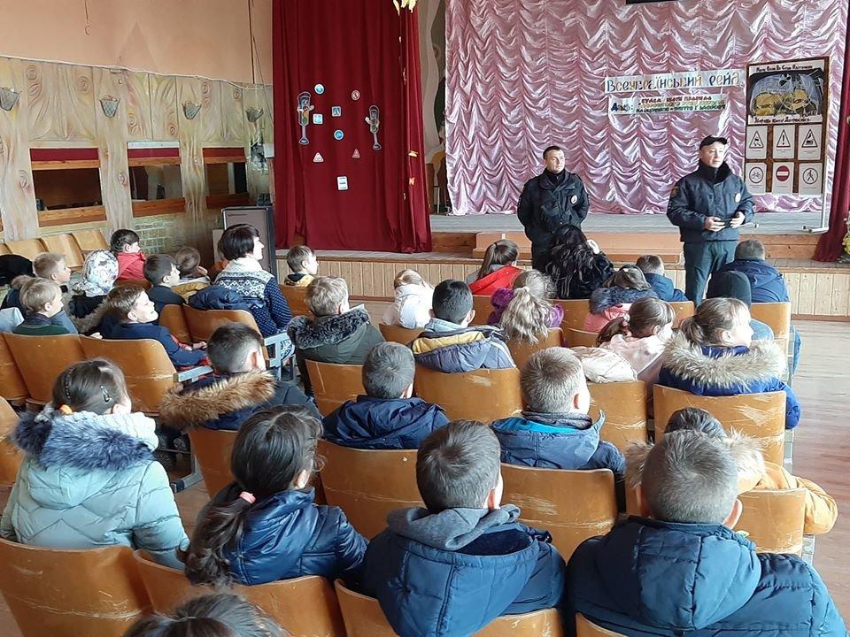 Полицейские рассказали мелитопольским школьникам о правилах дорожного движения, фото-4