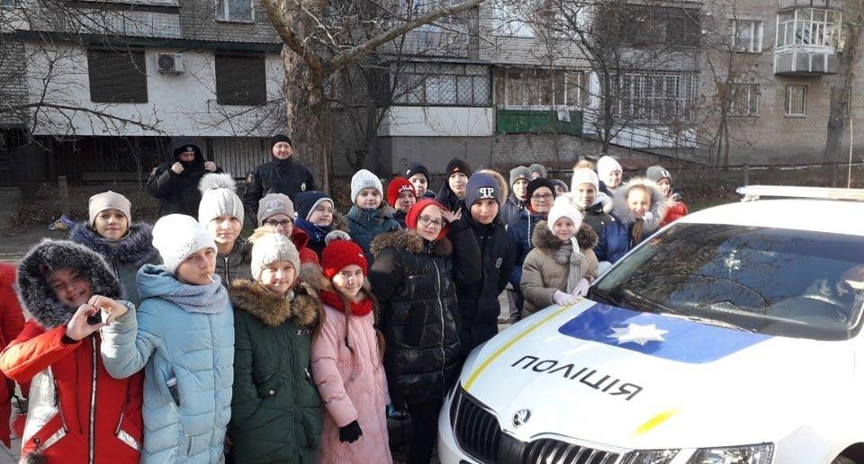 Полицейские рассказали мелитопольским школьникам о правилах дорожного движения, фото-5