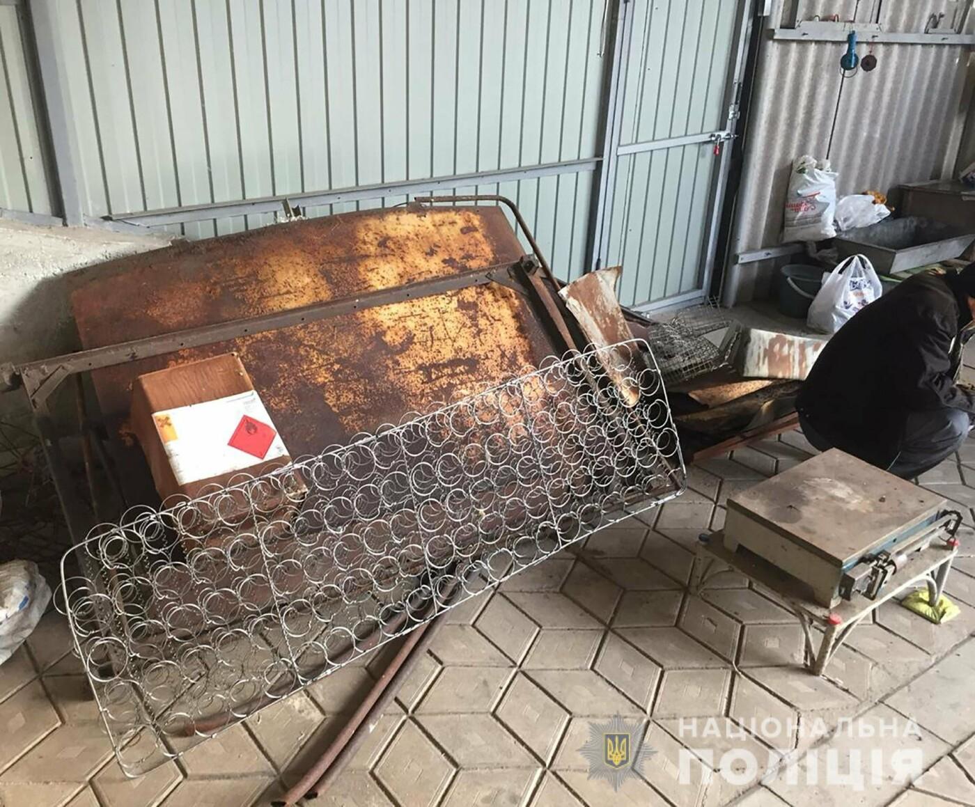 В Мелитополе пенсионерка организовала нелегальный пункт приема металлолома, - ФОТО, фото-2