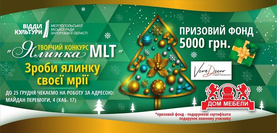 За лучшую новогоднюю елку мелитопольцы получат вознаграждение, фото-1