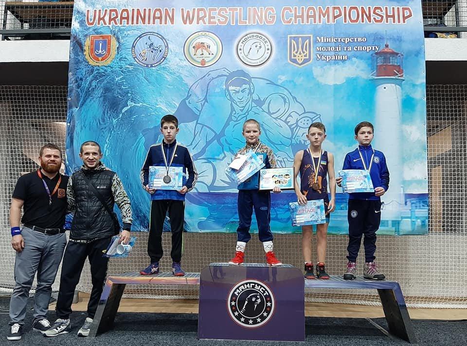 Юный борец из Мелитополя стал победителем чемпионата Украины, фото-1