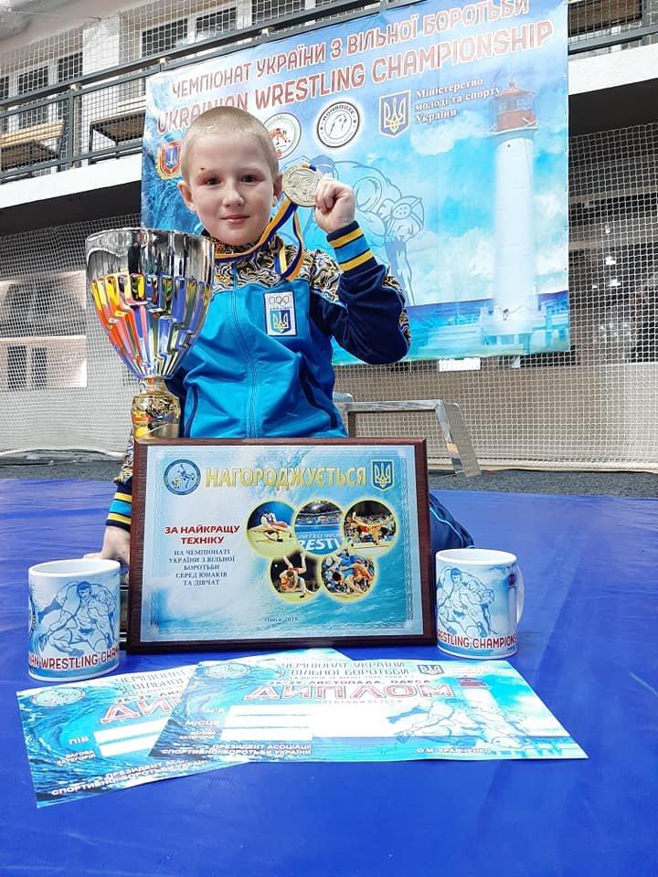 Юный борец из Мелитополя стал победителем чемпионата Украины, фото-3