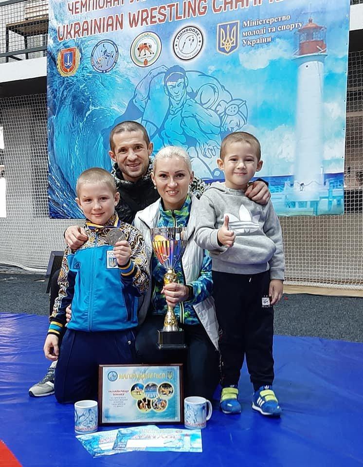 Юный борец из Мелитополя стал победителем чемпионата Украины, фото-4