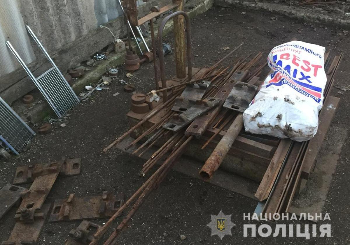 Житель Мелитопольского района организовал дома нелегальный пункт приема металлолома, - ФОТО, фото-2