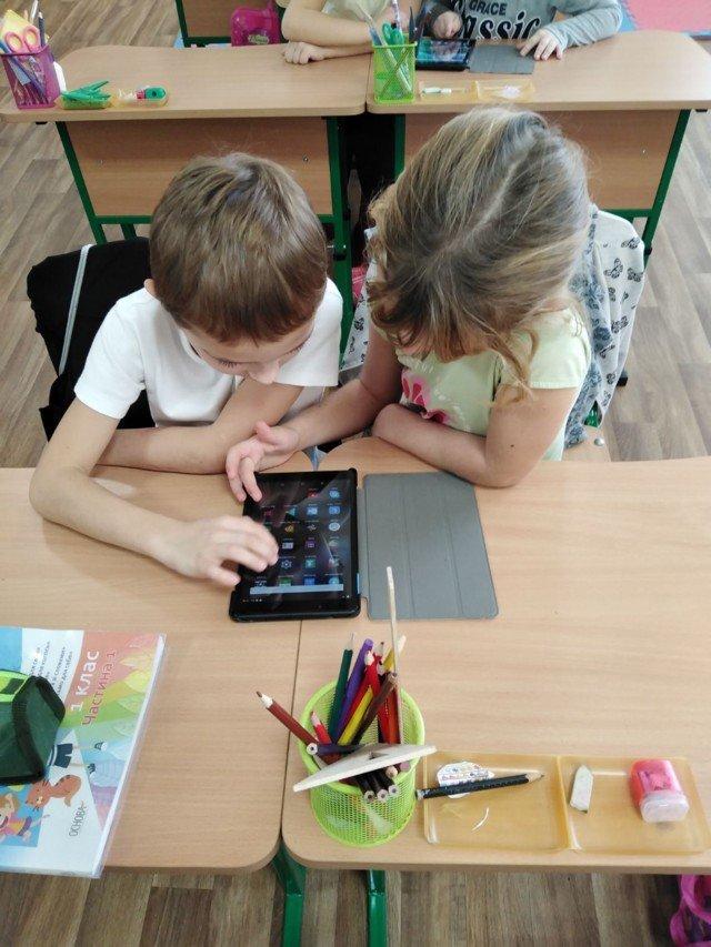 Для кирилловских школьников приобрели планшеты , фото-4