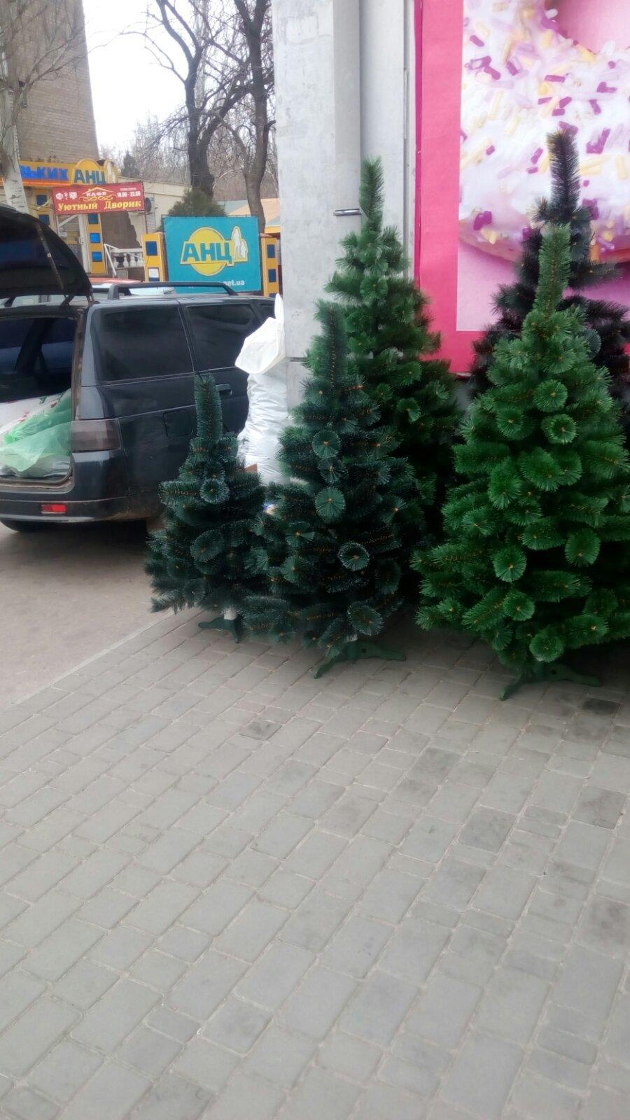 В Мелитополе оштрафуют продавца искусственных елок, - ФОТО , фото-2