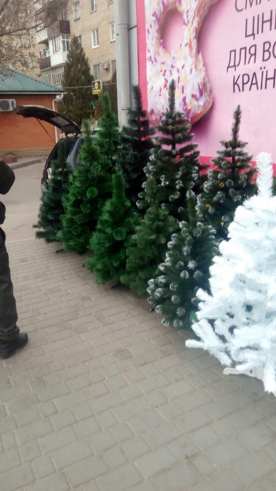 В Мелитополе оштрафуют продавца искусственных елок, - ФОТО , фото-3