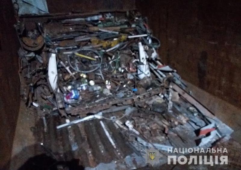 В Кирилловке ликвидировали нелегальный пункт приема металлолома, - ФОТО, фото-1