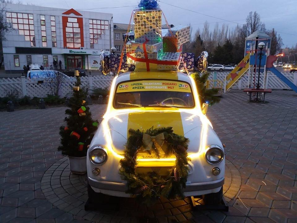 Мелитополь украшают к Новому году, - ФОТО, фото-5