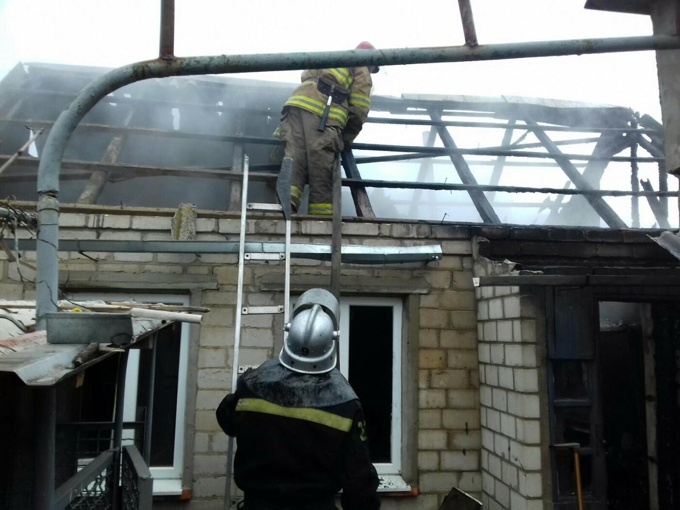 Мелитопольские спасатели ликвидировали пожар на территории частного домовладения, – ФОТО, фото-1
