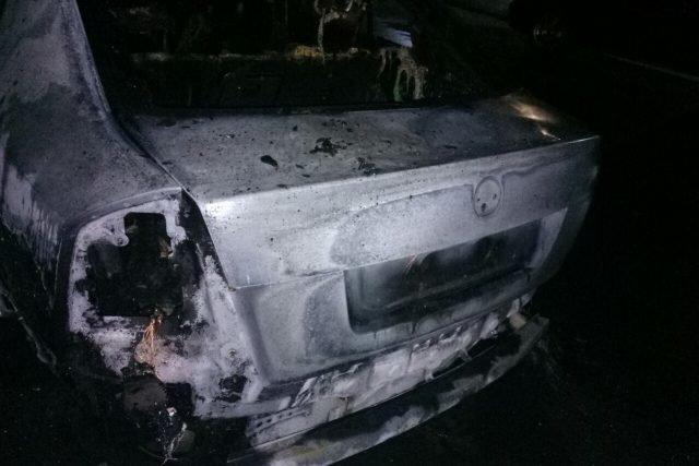 В Мелитополе загорелся автомобиль , фото-1