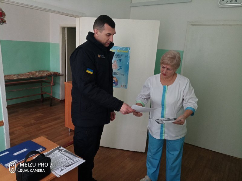 Спасатели проверили мелитопольские медучреждения, - ФОТО, фото-1