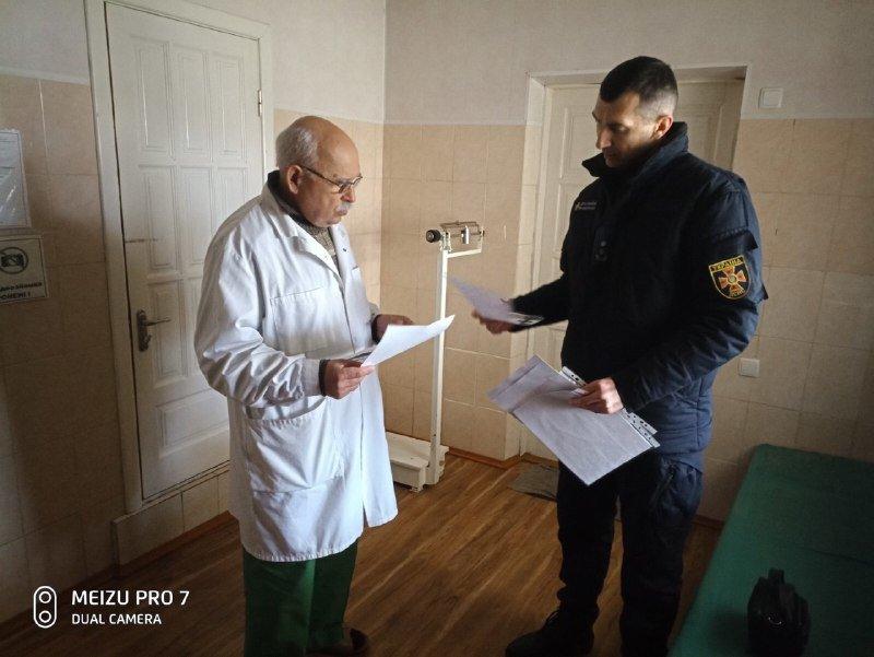 Спасатели проверили мелитопольские медучреждения, - ФОТО, фото-2