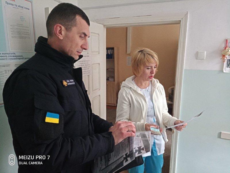 Спасатели проверили мелитопольские медучреждения, - ФОТО, фото-3