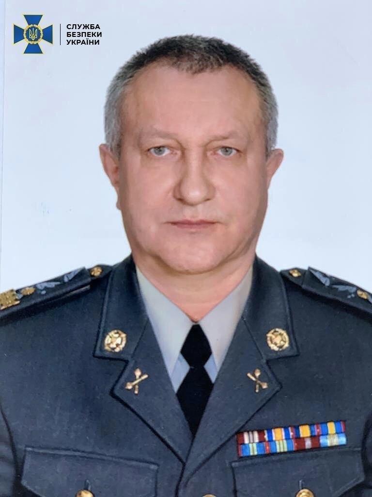 СБУ затримали генерал-майора відомства, який працював на РФ, фото-1