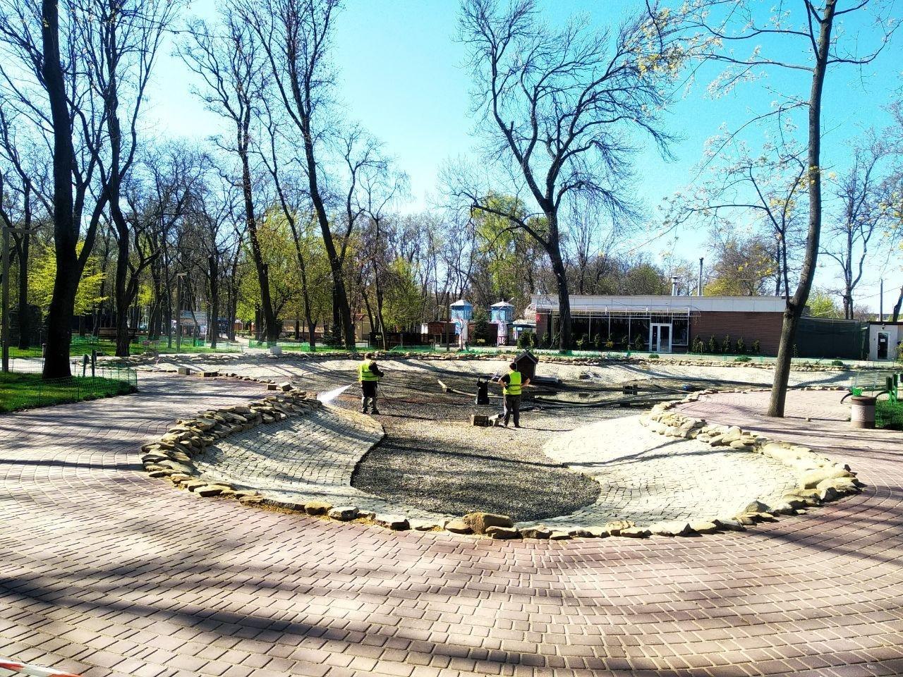 Мелітопольський парк готують до початку сезону, фото-5