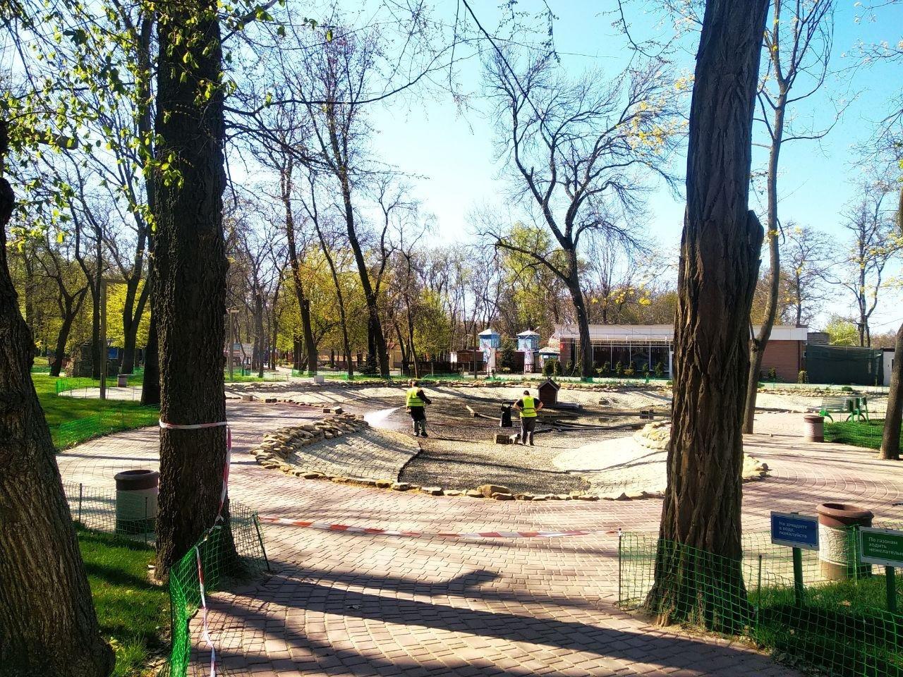 Мелітопольський парк готують до початку сезону, фото-6