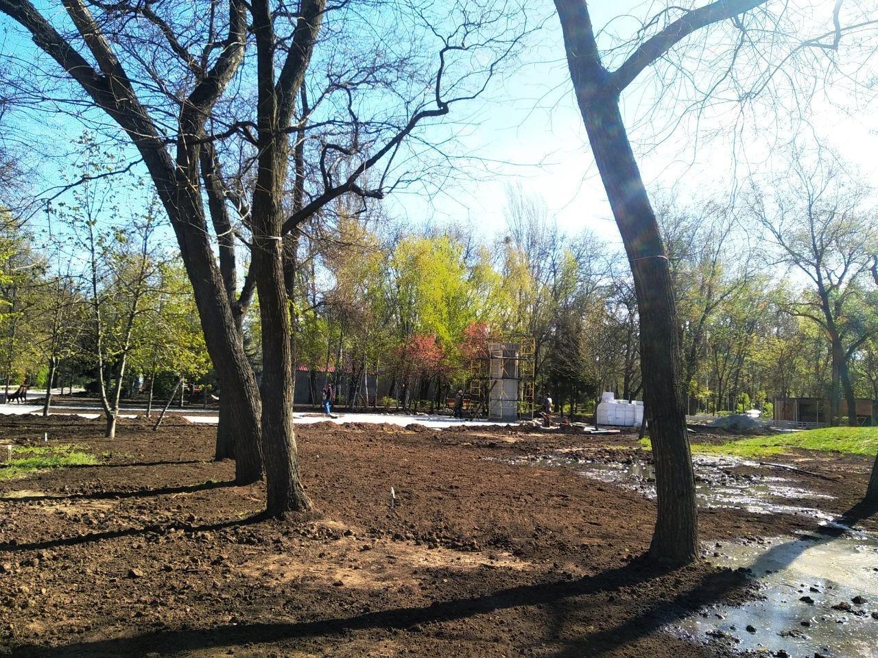 Мелітопольський парк готують до початку сезону, фото-4
