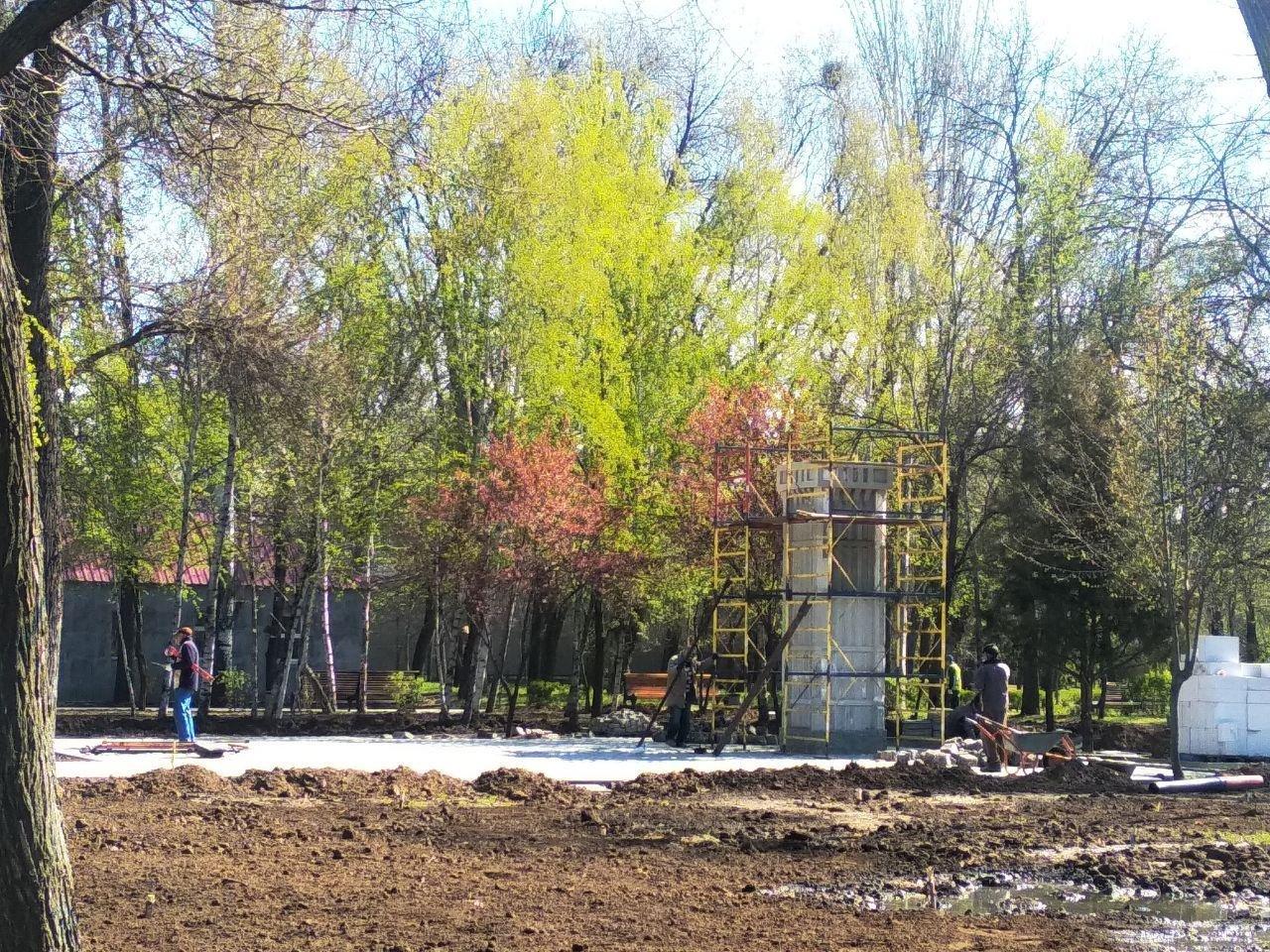 Мелітопольський парк готують до початку сезону, фото-3