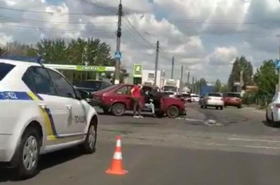 В Мелитополе на объездной произошло ДТП, фото-1