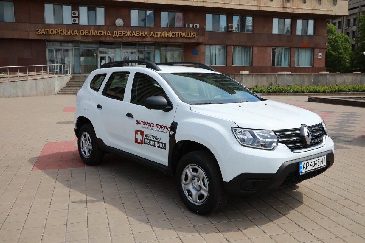 Медзаклади Мелітопольського району отримають нові машини швидкої допомоги, фото-1
