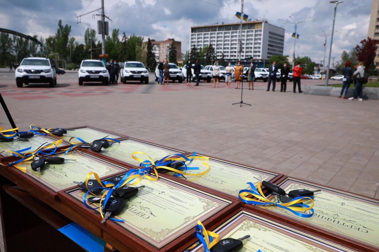 Медзаклади Мелітопольського району отримають нові машини швидкої допомоги, фото-2