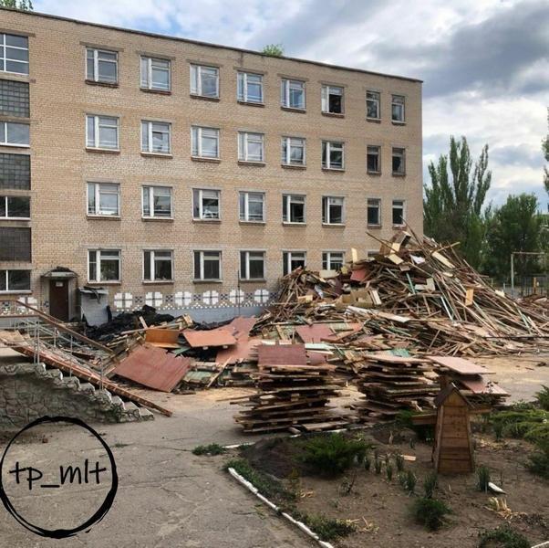 В Мелитополе начался капитальный ремонт ООШ № 15, фото-1