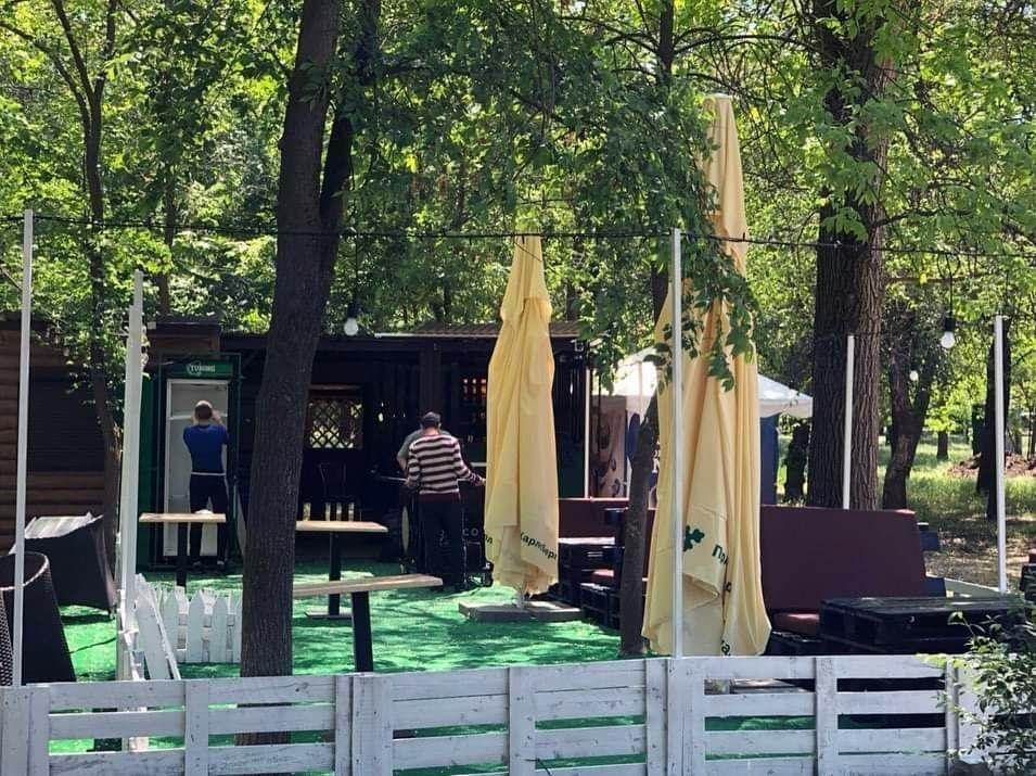 Мелитопольцы вышли на прогулку в городской парк, фото-7