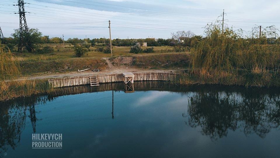 С высоты птичьего полета показали озеро Горячка и солнечную электростанцию под Мелитополем, фото-3