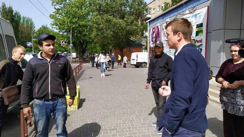 """На мелитопольском рынке снова """"разогнали"""" стихийщиков, фото-1"""