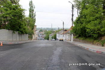 В Мелитополе завершился масштабный ремонт одной из дорог, фото-1