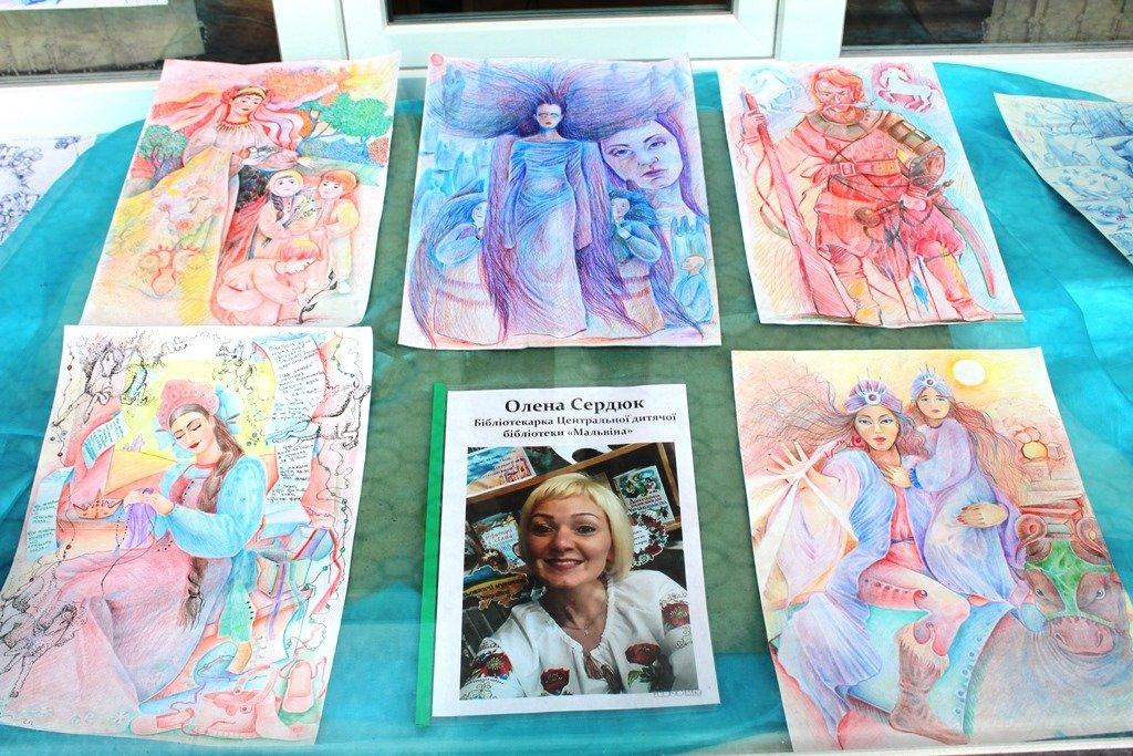 Мелитопольские библиотекари организовали выставку своих талантов, фото-4