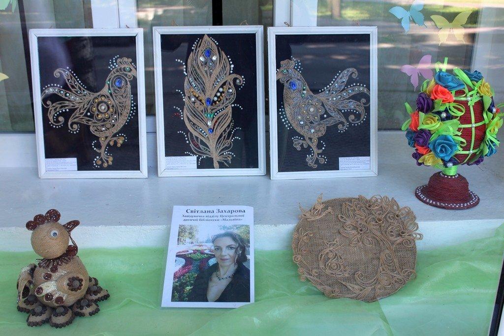 Мелитопольские библиотекари организовали выставку своих талантов, фото-8