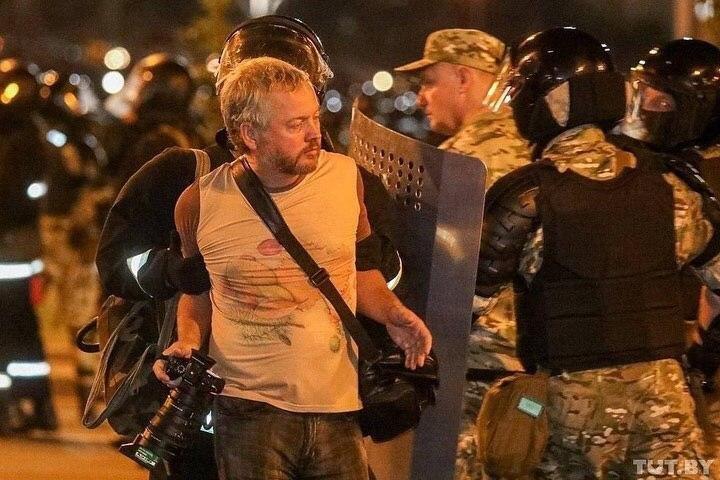 Жители Белоруси протестуют против оккупации власти Лукашенко, фото-1