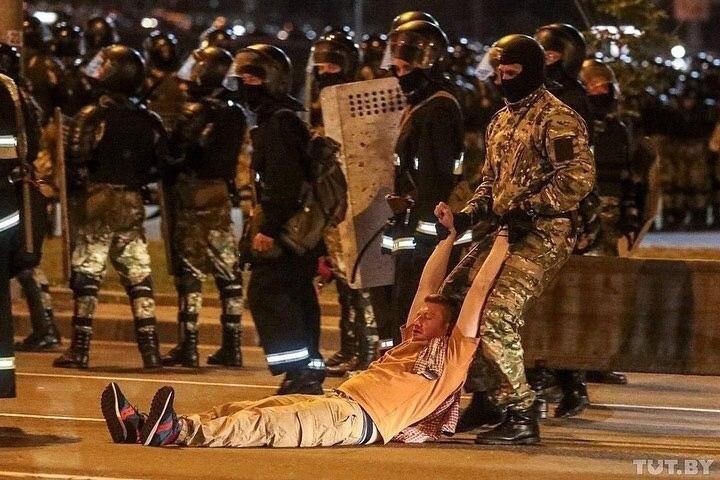 Жители Белоруси протестуют против оккупации власти Лукашенко, фото-2