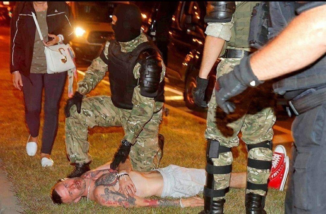 Жители Белоруси протестуют против оккупации власти Лукашенко, фото-5