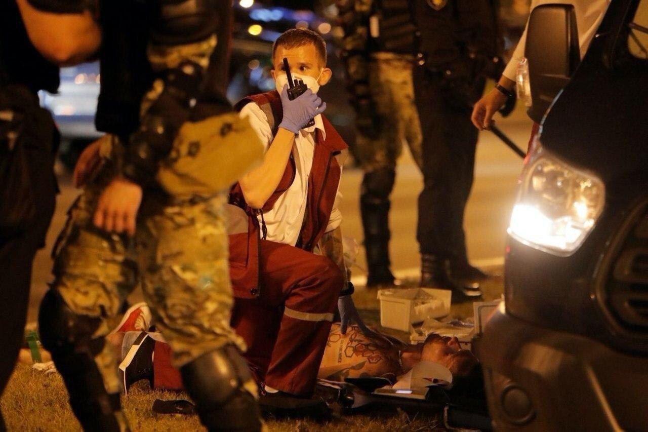 Жители Белоруси протестуют против оккупации власти Лукашенко, фото-6