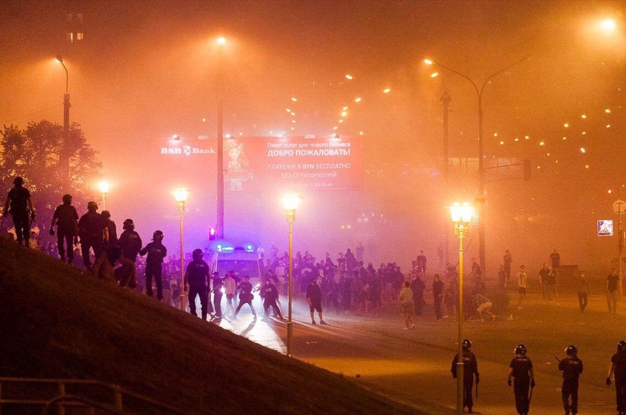 Жители Белоруси протестуют против оккупации власти Лукашенко, фото-7