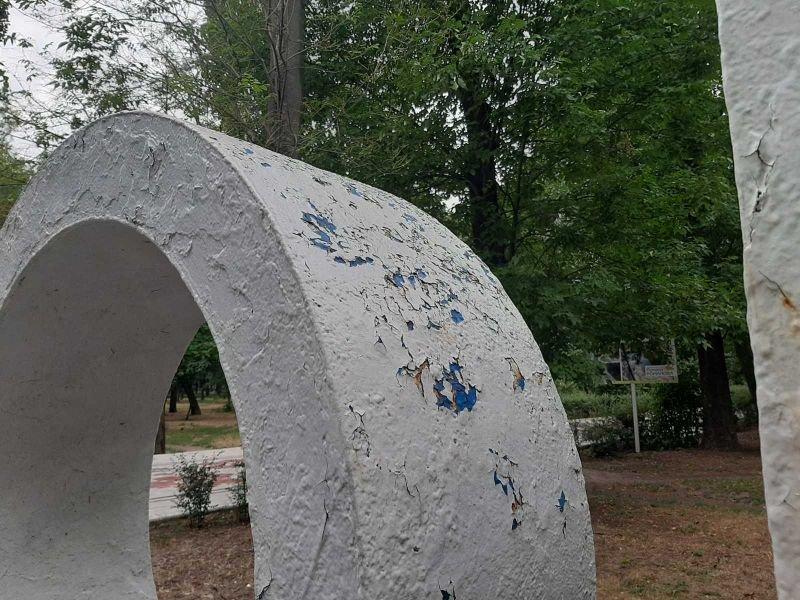 В Мелитополе обновят стелу у входа в парк им. Горького, фото-4