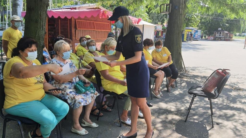 В Мелитополе спасатели провели беседы в трудовом коллективе, фото-2