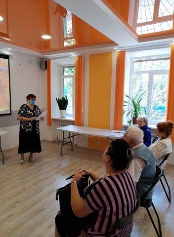 """В Мелитополе в библиотеке собрался Клуб общения """"В кругу друзей"""", фото-2"""