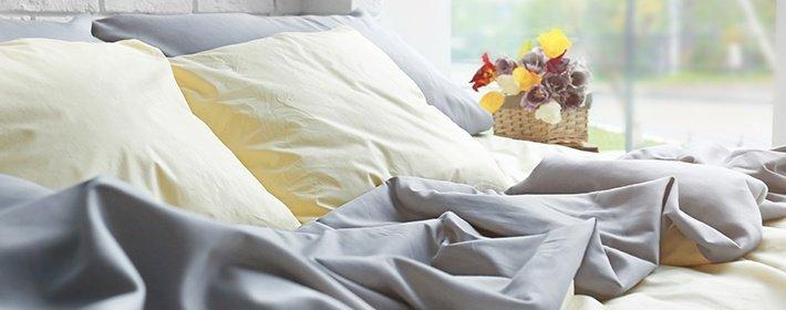 Как выбрать постельное белье? Материалы для простыней и пододеяльников, фото-1
