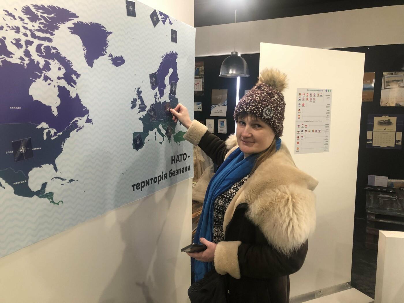 """""""І протидія пандеміям, і наукова співпраця"""": відвідувачі виставки """"НАТО - територія безпеки"""" дізналися реальні факти  про Альянс, фото-3"""