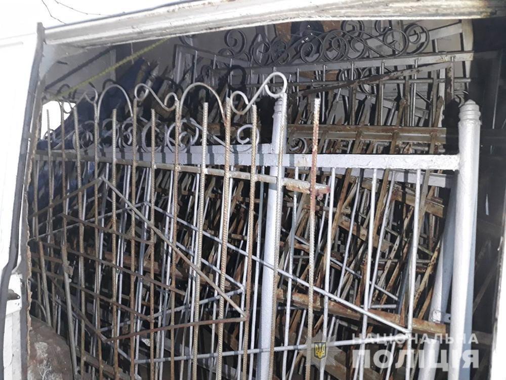В Мелитополе полиция задержала двух вандалов, фото-1