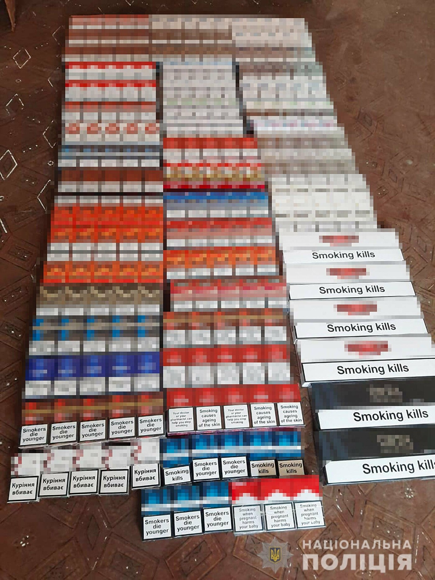 Более полутысячи пачек контрафактных сигарет обнаружили полицейские в Мелитополе, фото-1