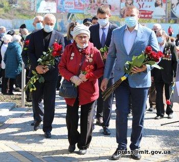 Мелитопольцы почтили память пострадавших в результате аварии на Чернобыльской АЭС, фото-1